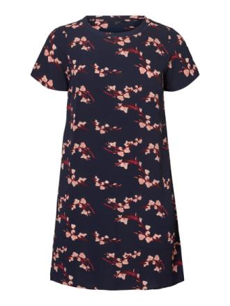 VERO MODA Short Floral Printed Dress Women Blue