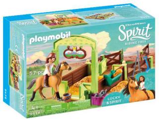 Playmobil Hesteboks Lucky & Spirit