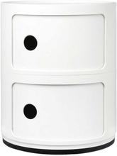 Kartell - Componibili Opbevaring 2 Rum, Hvid