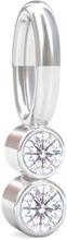 Spinning Jewelry vedhæng - Shine - Rhodineret sterlingsølv