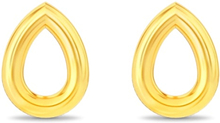 Spinning Jewelry ørestikker - Drop - Forgyldt sterlingsølv