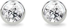 Spinning Jewelry ørestikker - Duchess - Rhodineret sterlingsølv