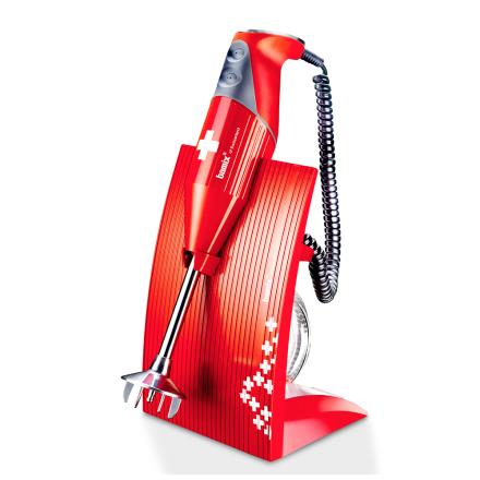 Bamix - Bamix Swissline 200W Stavblender, Rød