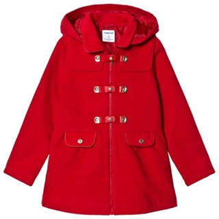 Mayoral Little Red Riding Hood Duffel Coat 4 years