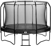 Salta trampolin med net - Premium - Ø 396 cm