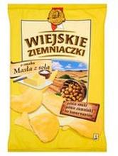Wiejskie Ziemniaczki - Chipsy masło z solą