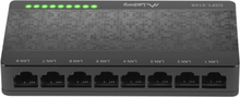 Lanberg DSP1-1008 Switch 8-portar 100/1000 Mbps