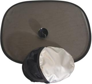 Satex solskærme med sugekop - 2 stk.