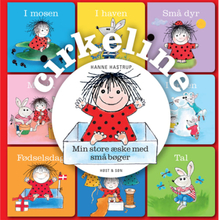 Cirkeline - Min store æske med små bøger - Papbog