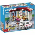 Playmobil Klinik Og Ambulance Legesæt - Gucca