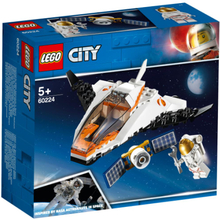 LEGO City Space Port Satellitservicemission