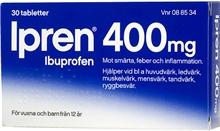Ipren 400mg (Läkemedel) 30 tabletter
