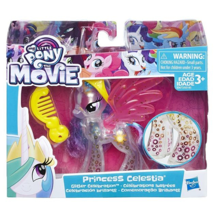 My Little Pony Princess Glitter Celebration Princess Celestia