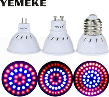 Newest 36 54 72Leds Grow Light E27/GU10/MR16 220V Phyto Lamp Full Spectrum LED Grow Light E27 Led Growing Lamps For Indoor Plant