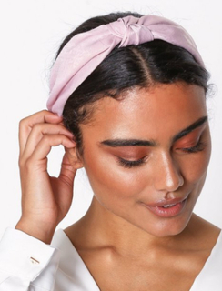 NLY Accessories Scarf Hairband Rosa