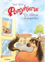 En vildhest i skolegården - Ponyhjerte 7 - Hardback