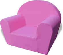 vidaXL Fåtölj för barn rosa