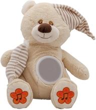 Mjukbjörn med nattlampa