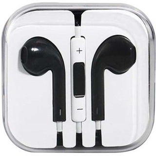 In-ear headset / høretelefoner - iPhone / iPad / iPod - Sort