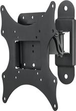 Deltaco väggfäste förTV/skärm, 15-36, max 25kg, 1 led, svart