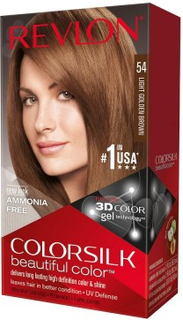 Revlon Colorsilk Permanent Haircolor 54 Light Golden Brown 1 stk