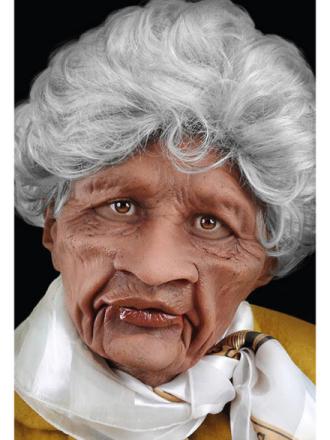 Vanha nainen Naamari