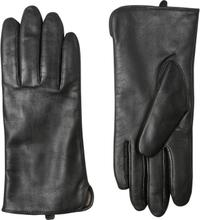 Handskmakaren Ragusa extra vida skinnhandskar med touch, dam, Svart, 6,5