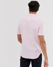 French Connection short sleeve oxford shirt-Pink