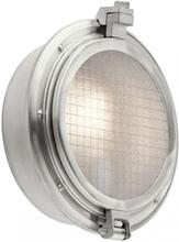 Clearpoint Væglampe H31,1 cm 1 x E27 - Børstet aluminium