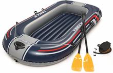 Bestway Gummibåt med pumpe og årer Hydro-Force blå 61083