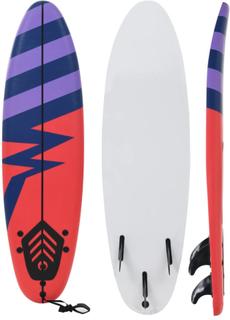 vidaXL surfbræt 170 cm stribet