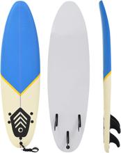 vidaXL Surfbräda 170 cm blå och gräddvit