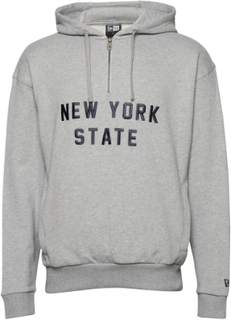 Ne New York State Hoody Newer Hoodie Grå NEW ERA