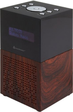 Soundmaster Klockradio DAB+ FM USB-laddare