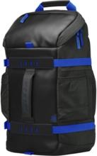 "HP HP 15,6"" Odyssey Sporty ryggsäck, Svart/Blå Y5Y50AA Replace: N/AHP HP 15,6"" Odyssey Sporty ryggsäck, Svart/Blå"