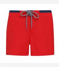Women´s Swim Shorts Red/Navy