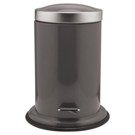Sealskin Acero Søppelbøtte med pedal grå 3 L 361732410