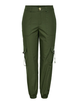 ONLY Cargo Trousers Women Green