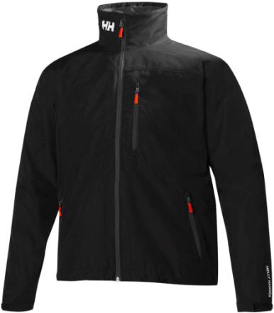 Crew Jacket Musta XL