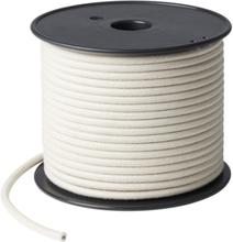 Nielsen Light tygledning, rulle, 50 meter, lin, vit