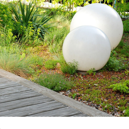 LED lyskule - 20 cm til hage - terrassen
