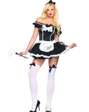 French Maid Fifi Kostyme