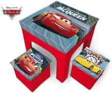 Disney Cars Möbelset Bord & Stolar