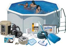 Swim & Fun 2740 Poolpaket Ø3,5 x 1,32 m, 11 250L