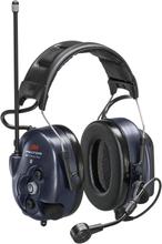 3M Peltor WS LiteCom Plus Hörselskydd hjässbygel, Bluetooth, komradio 69 kanaler