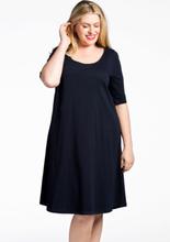 Dress A-line COTTON 38/40 (38/40) blue (230)