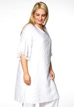 Dress frill cuffs LINEN S (S) white (201)