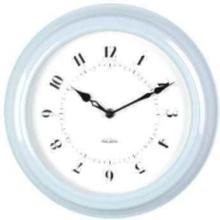 Light Blue Wall Clock