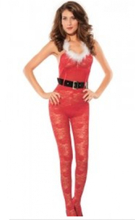 Juledrakt undertøys kostyme - M