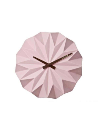 Ceramic Pink Wall clock